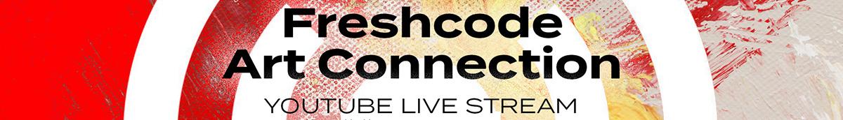 Freshcode live stream banner