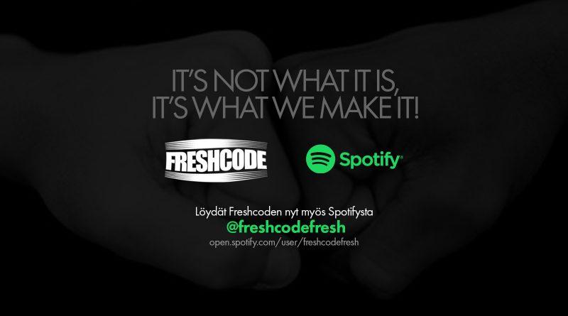 Freshcode-Spotify